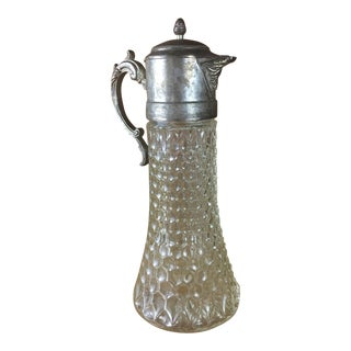 Cut Glass Claret Pitcher