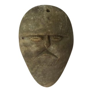 Carved Stone Moroccan Wall Mask