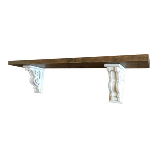 Rustic Corbel Bracket Shelf