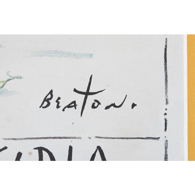 Cecil Beaton 'Centenaire De Monte Carlo' Lithograph - Image 6 of 8