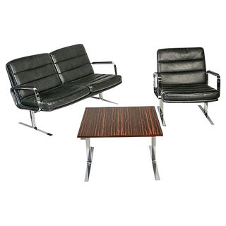 Knoll Airport Style Living Room Set - Set of 3