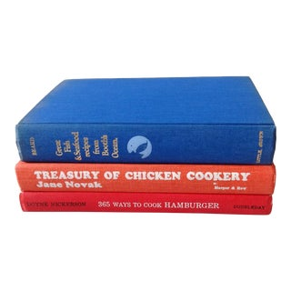 Vintage Collection of Cookbooks - Set of 3