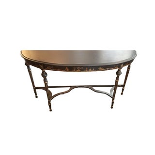 Asian French Console Table