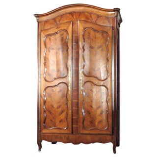 French Cherry Armoire