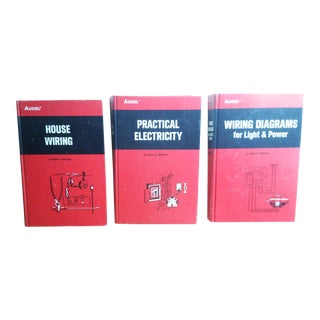 """About Electricity and How To"" Audel Books - Set of 3"