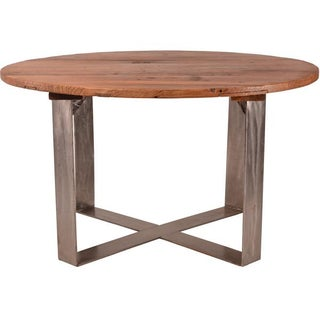 Reclaimed Elm Wood Dining Table