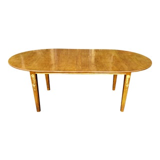 Superb Antique Walnut & Gilt-wood Dining Table