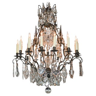 Nice Quality French Crystal Chandelier
