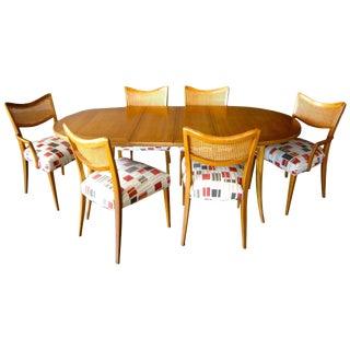 Harvey Probber Bleached Mahogany Dining Set