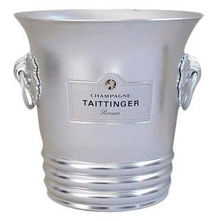 Vintage French Taittinger Champagne Ice Bucket