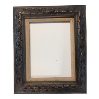 Vintage Carved Wood Frame