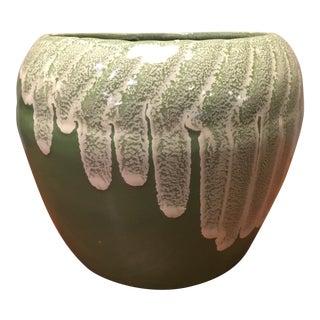 Mid-Century Mint Green Vase