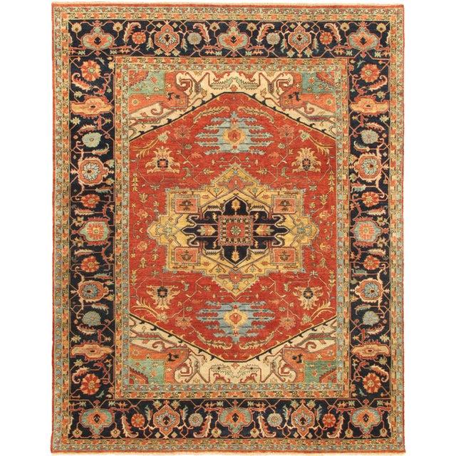 "Pasargad Serapi Collection Rug - 4' x 6'1"" - Image 1 of 2"