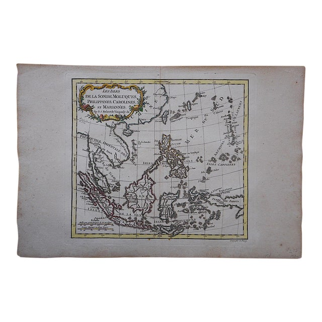 Antique 18th C. Map-Phillipines-South Sea Islands - Image 1 of 3