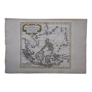 Antique 18th C. Map-Phillipines-South Sea Islands