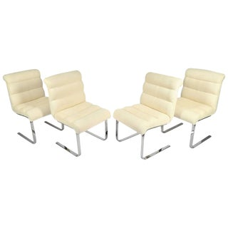 "Set of Four ""Lugano"" Chairs by Mariani for Pace"