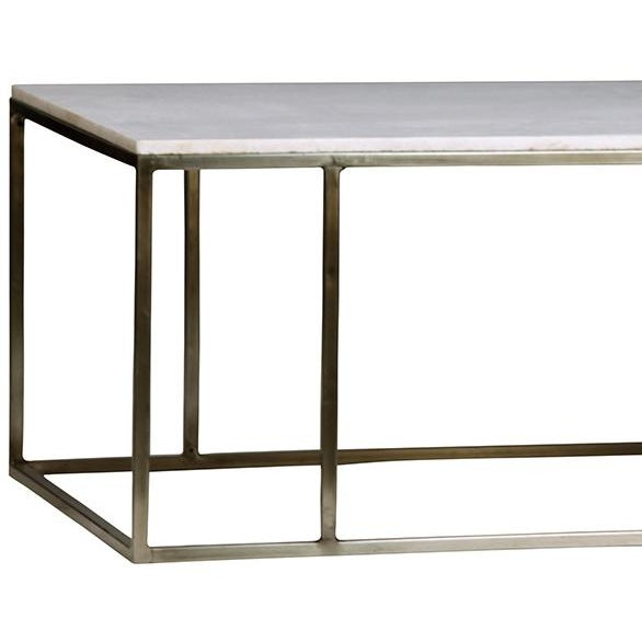 Buy Online Marble Top Coffee Table: White Marble Top Coffee Table
