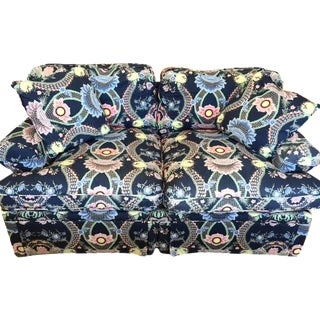 Henredon Clarence House Fabric Loveseat