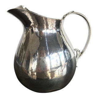 Randahl Hand Wrought Sterling Pitcher