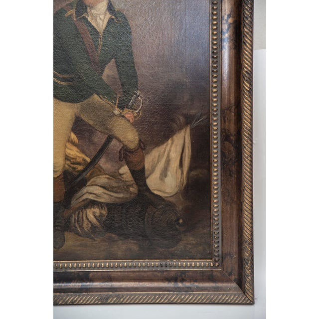 VIntage Reproduction Officer Painting - Image 8 of 10