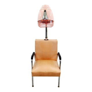 Vintage Pink Glitter Hair Chair