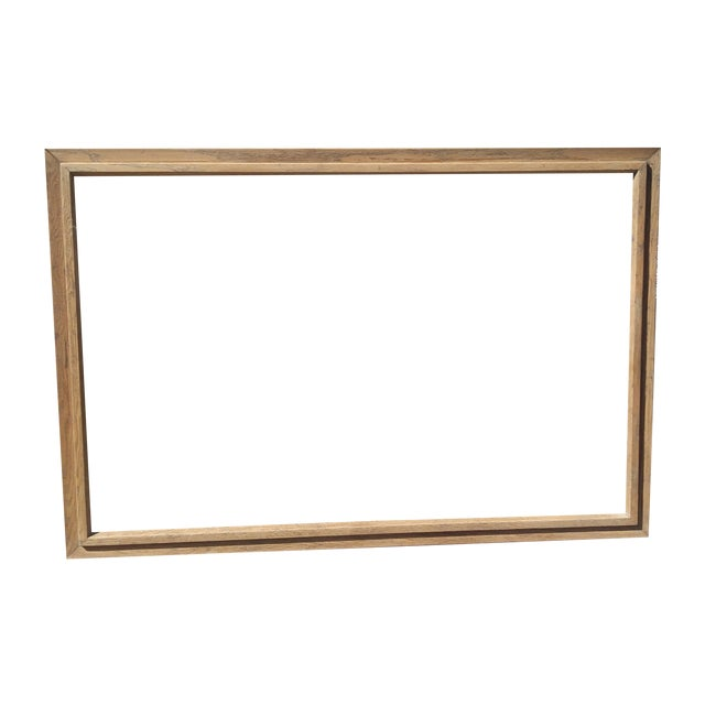 Image of Vintage Oak Picture Frame