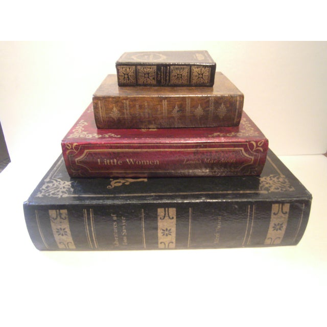 Faux Book Boxes - Set of 4 - Image 2 of 11