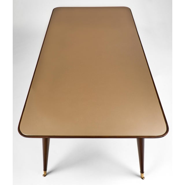 Italian Mid-Century Modern Dining Table - Image 8 of 11