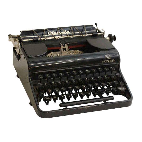 Antique French Portable Typewriter - Image 1 of 10