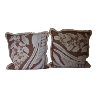 "Kreiss Old World Tapestry Custom Pillows 26"" - a Pair"