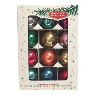 Vintage Shiny Brite Glass Ornaments