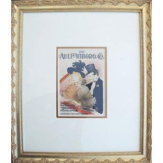 1950 Vintage Toulouse Lautrec Lithographic Plate
