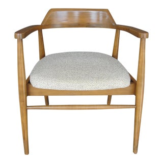 Vintage Teak Mid Century Modern Arm Chair