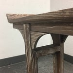 Image of Ballard Designs Ananda Whitewash Elm Console Table