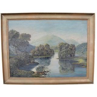 Hudson River Impressionist Landscape