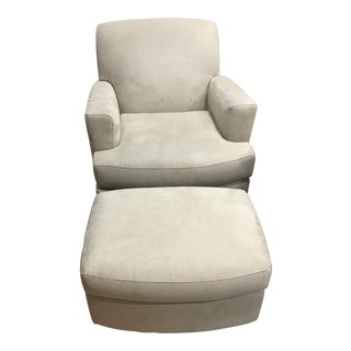 Room & Board Swivel Chair Set - A Pair
