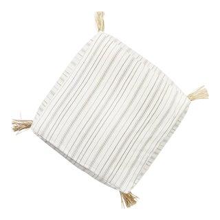 Boho Style Striped Floor Cushion