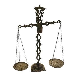 Antique Bronze Scale