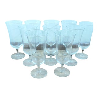 Short Stemmed Wine Glasses - Set of 10