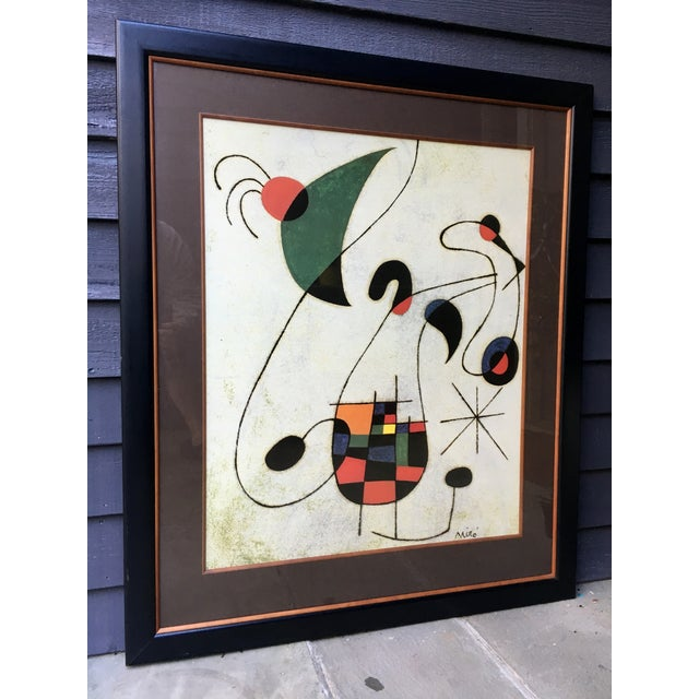 Large Miro Framed Print - Image 3 of 6