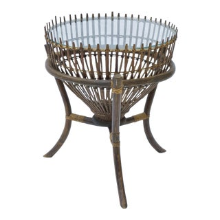 African Boho Chic Fish Basket Table