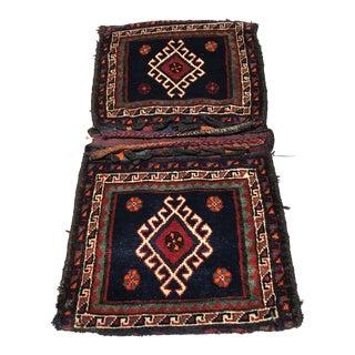 """Old Persian Luristan Camel Bag - 2' x 3'10"""""""