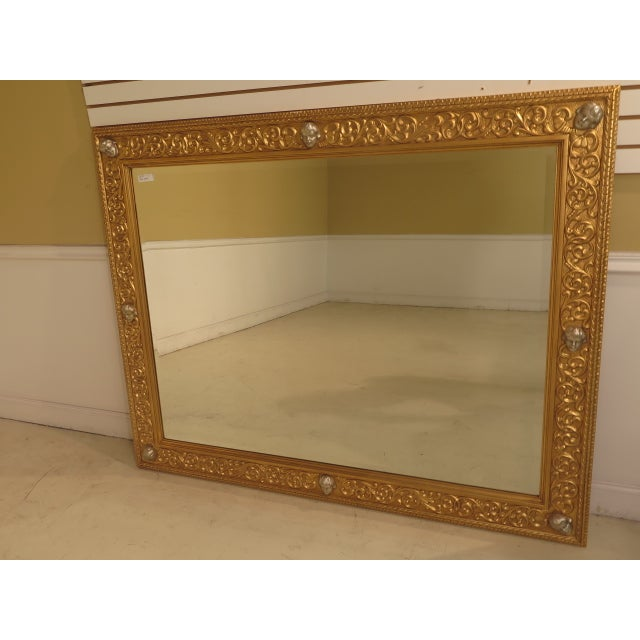 Friedman Brothers Custom Mirror With Cherub Heads - Image 2 of 11