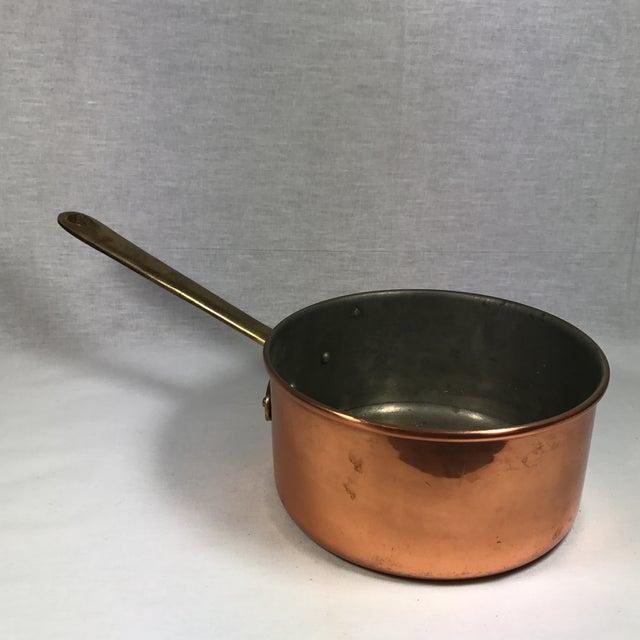 Portuguese Copper & Brass Pan - Image 10 of 10