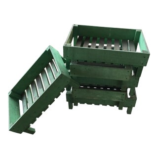 French Chef Herb Crates - Set of 6