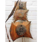 Image of Vintage Copper Ship Wall Sculpture