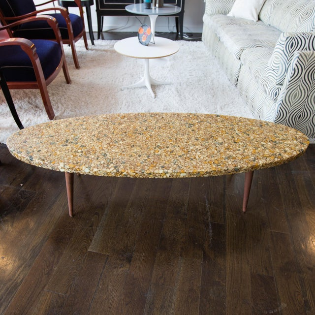 Image of Vintage River Rock Surfboard Coffee Table