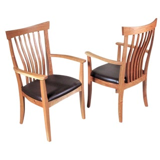Pacific Classic Dining Armchairs- A Pair