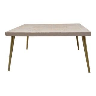 Lane Parquet-Top Coffee Table