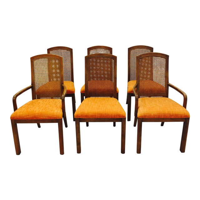 Vintage Dixie Mid-Century Dining Chairs - Set of 6 - Image 1 of 11